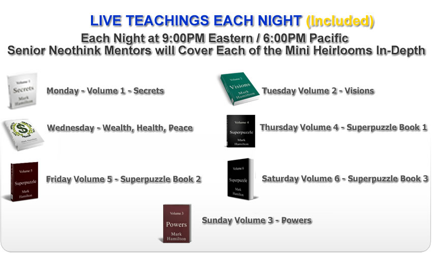 Mark Hamilton Neothink Teachings Mini Heirlooms